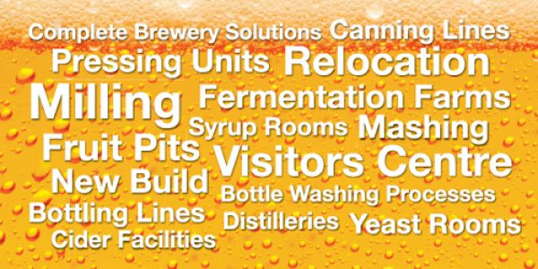 Meller's particular expertise sits within the brewery and spirits sectors where we have worked with many global clients as well as regional brewers throughout the UK.