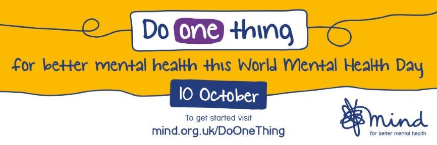 World Mental Health Day – 10 October 2020